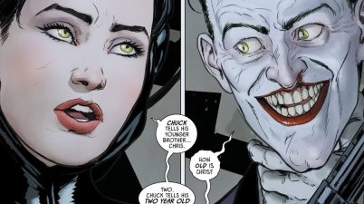 Catwoman Tells The Joker A Joke (Rebirth)