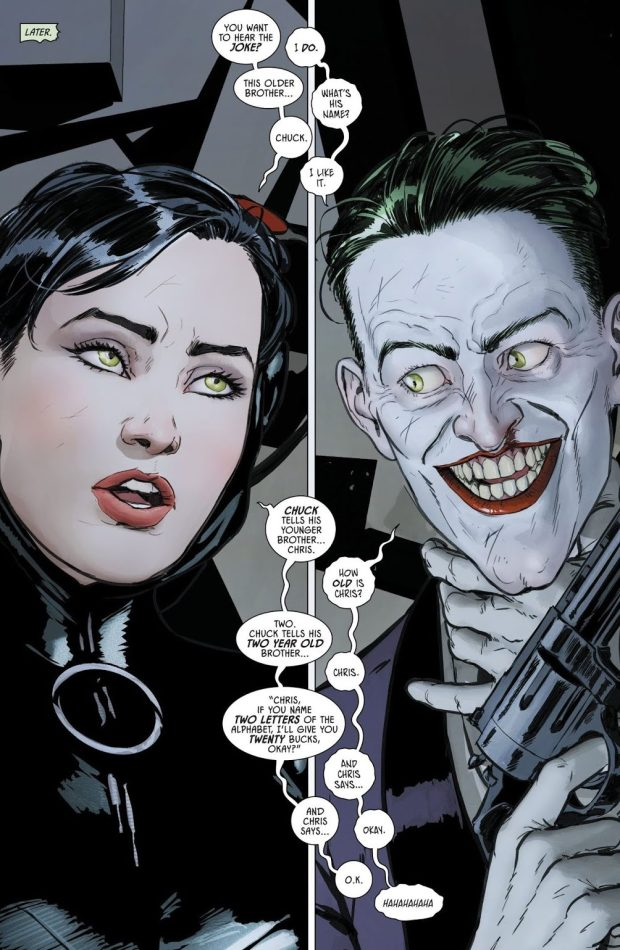 Catwoman Tells The Joker A Joke (Rebirth)