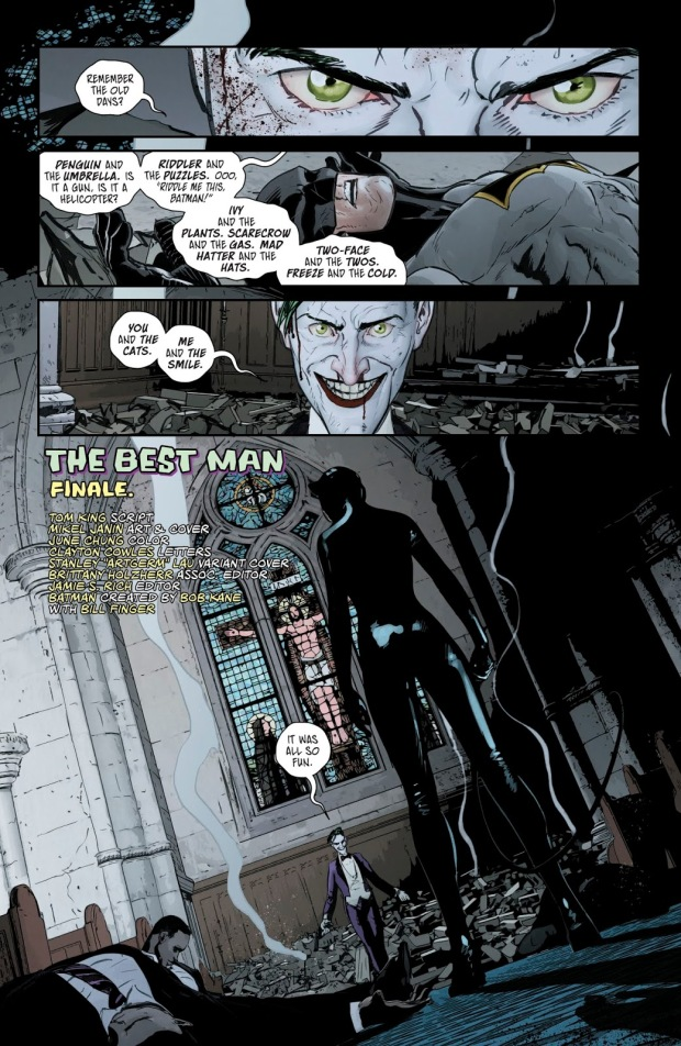 Catwoman VS The Joker (Rebirth)