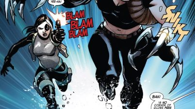 Domino And Lady Deathstrike (Weapon X Vol 3 #19)