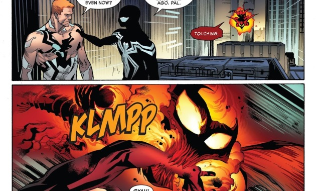 Flash Thompson Knows Peter Parker Is Spider-Man