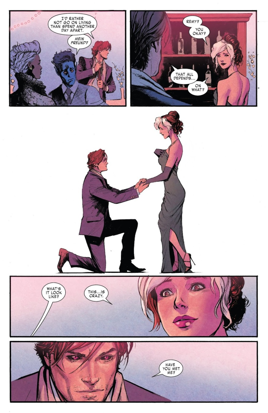 Gambit Proposes To Rogue