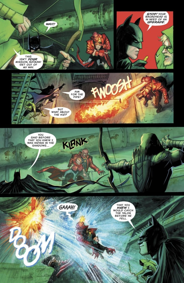 Green Arrow And Batman VS The Burned