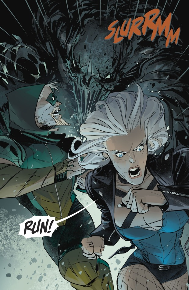 Green Arrow And Black Canary (Green Arrow Vol. 6 #25)