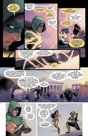 Green Arrow With The Lasso Of Truth (Rebirth)