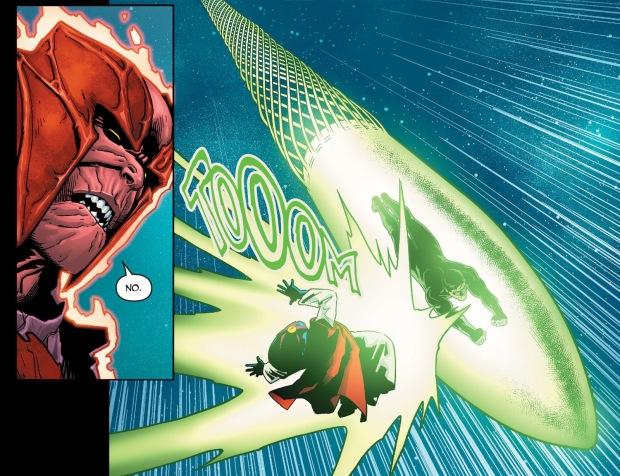 Green Lantern Hal Jordan VS Sayd (Injustice II)
