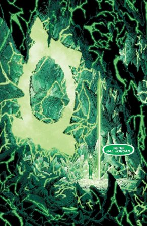 Hal Jordan Beats Hector Hammond's Mind Control Power