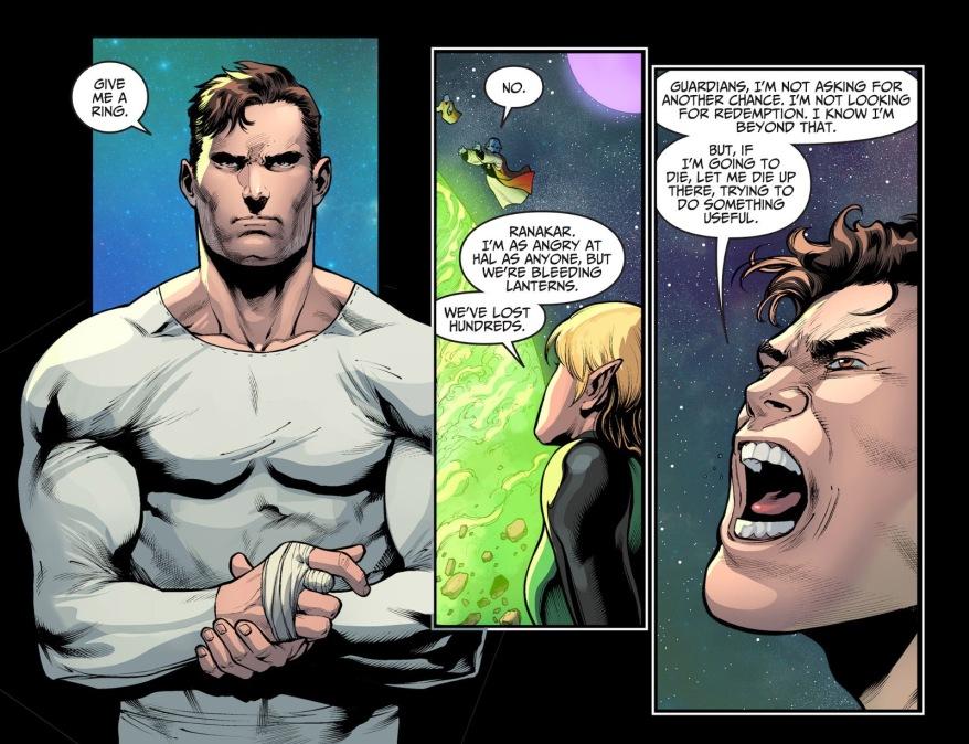 Hal Jordan Becomes A Green Lantern Again (Injustice II)