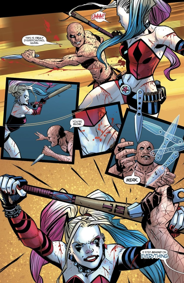 Harley Quinn VS Victor Zsasz (Rebirth)