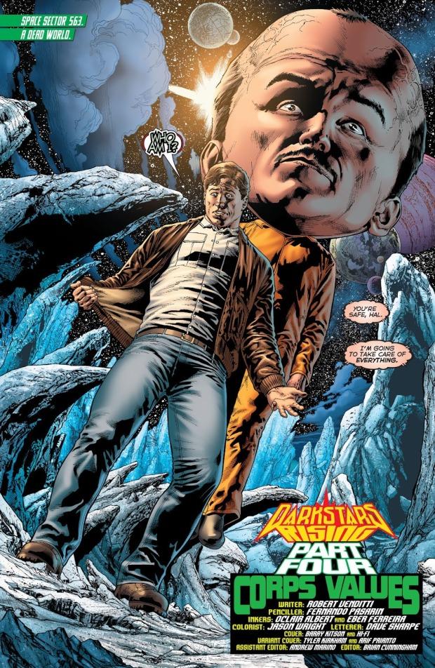Hector Hammond (Hal Jordan And The Green Lantern Corps #47)