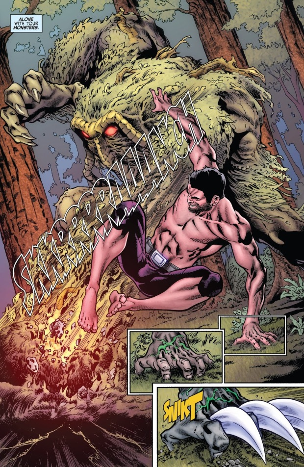 Hulkverine VS Man-Thing