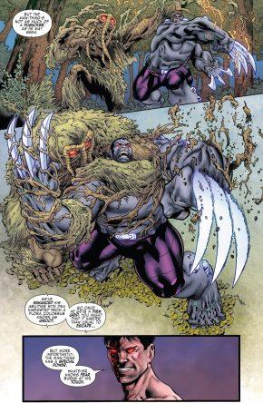 Hulkverine VS Man-Thing