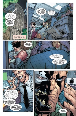 Jonah Jameson Learns Venom Is Eddie Brock