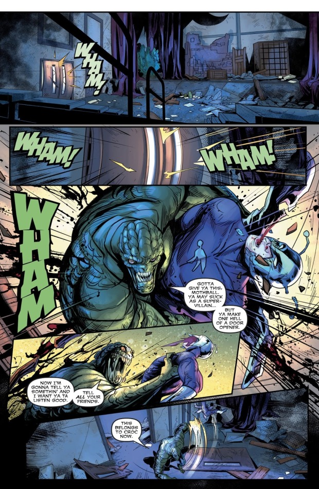 Killer Croc VS Killer Moth