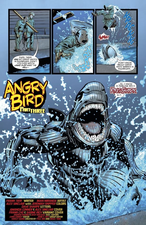 King Shark (Harley Quinn Vol. 3 #39)