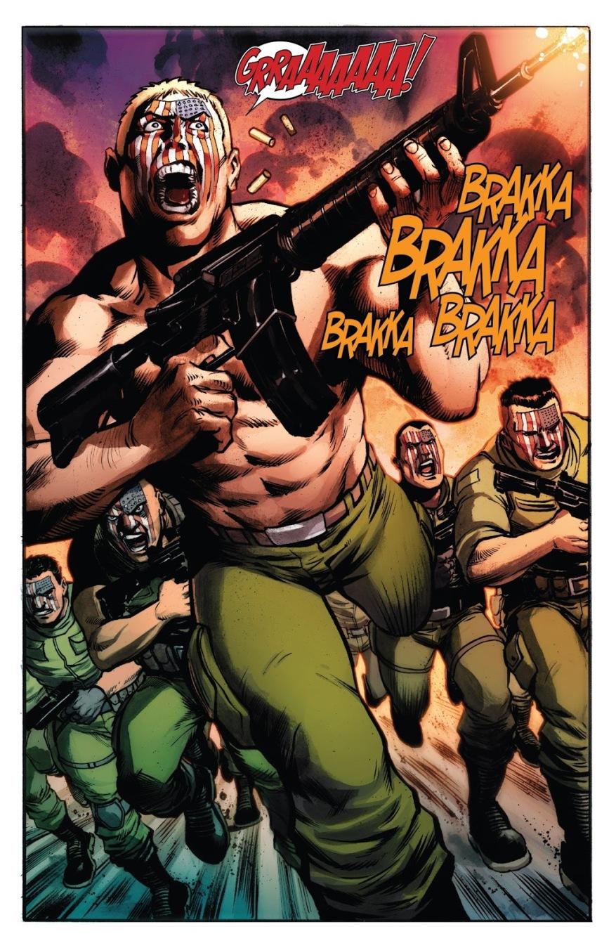 Nuke And The Nuke Platoon (Weapon X Vol 3 #13)