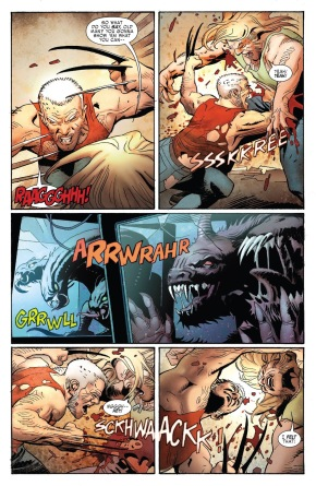 Old Man Logan VS Sabretooth