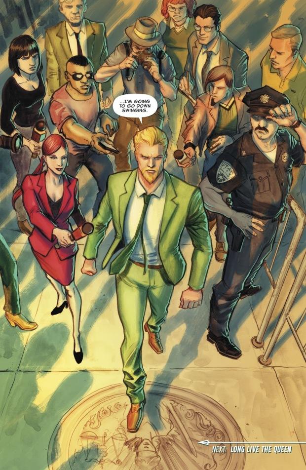 Oliver Queen (Green Arrow Vol 6 #37)