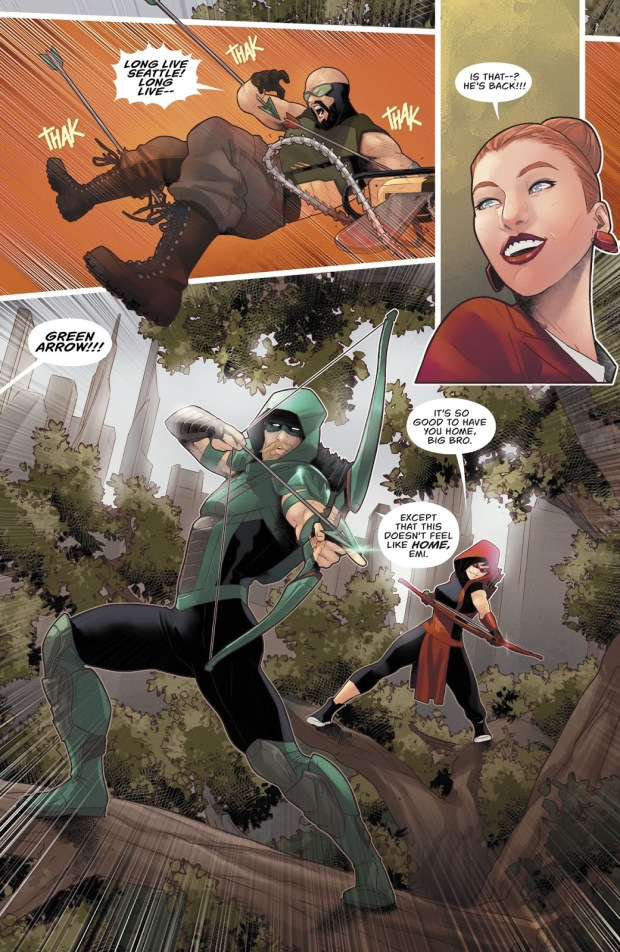 Red Arrow (Green Arrow Vol 6 #33)