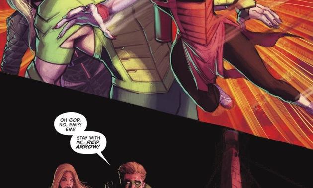 Red Arrow Saves Green Arrow's Life (Rebirth)