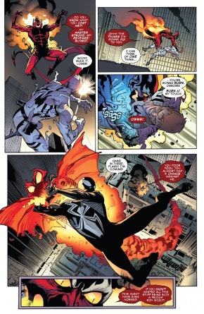 Red Goblin Kills Flash Thompson