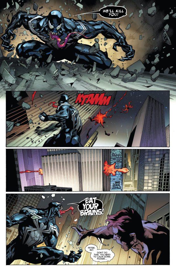 Red Goblin Kills Flash Thompson
