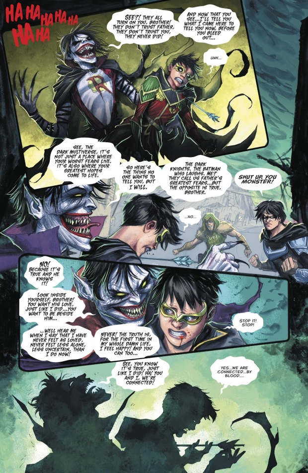 Robin Kills Dark Robin (Dark Nights Metal)