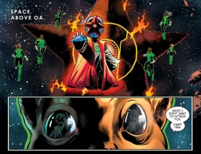 Starro Mind Controlling The Green Lantern Corps (Injustice II)