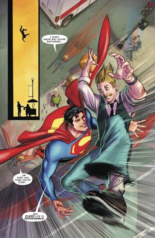 Superman Believes In Redemption (Rebirth)
