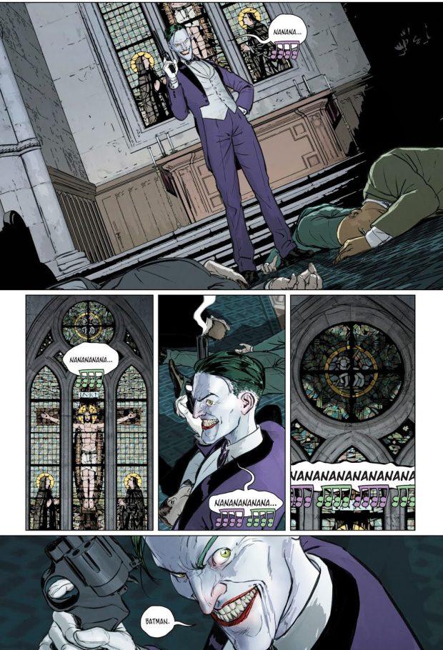 The Joker Sings Batman's Theme Song