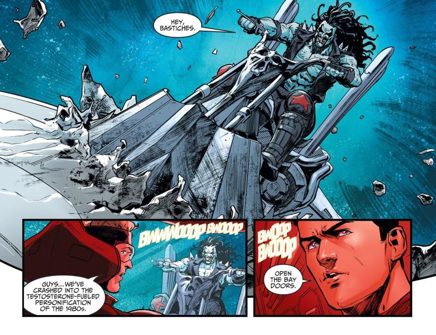 The Titans Meet Lobo (Injustice II)