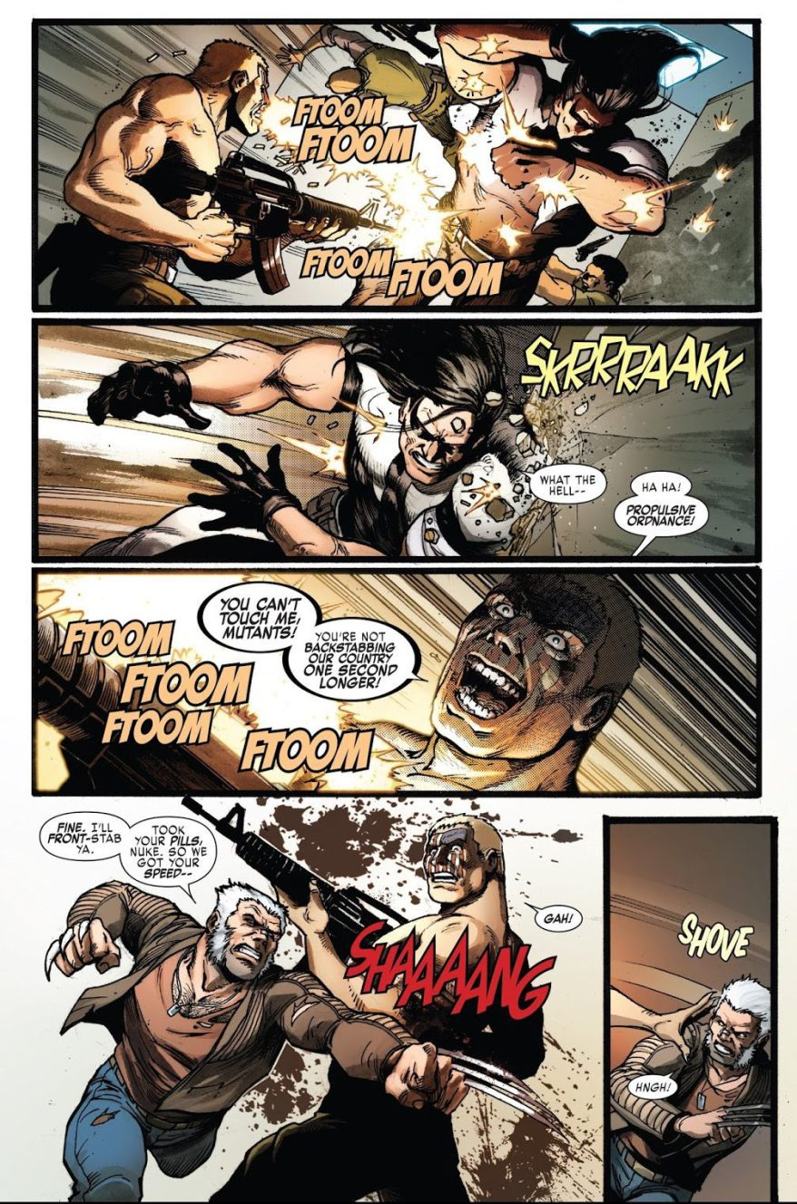 Weapon X Using Nuke Pills