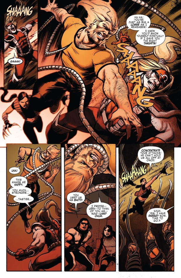 Weapon X VS Omega Red