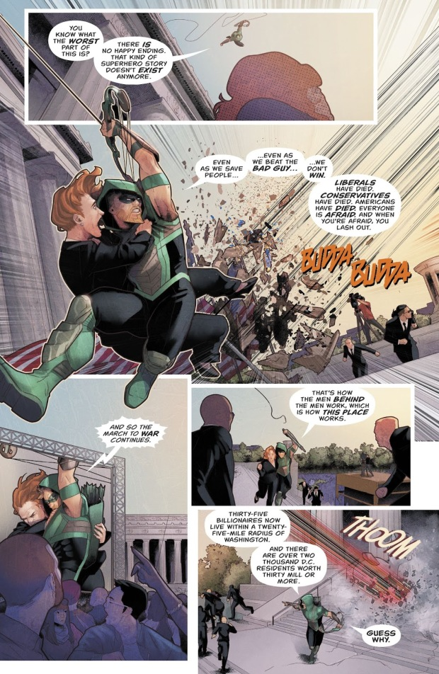 What Green Arrow Hopes For The United States