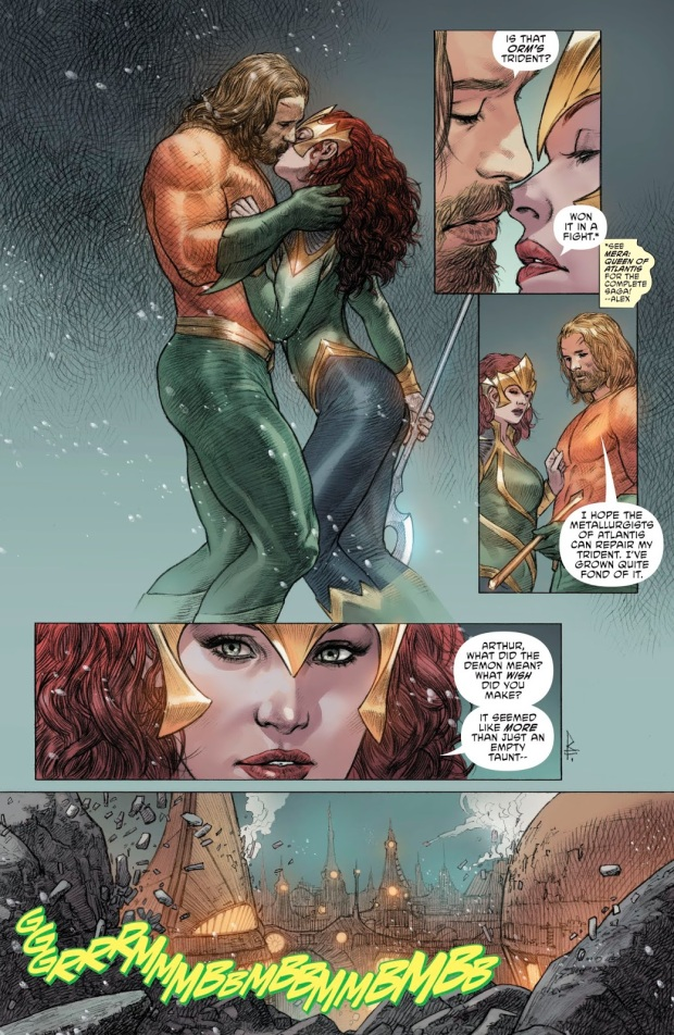 Aquaman Raises Atlantis To The Surface