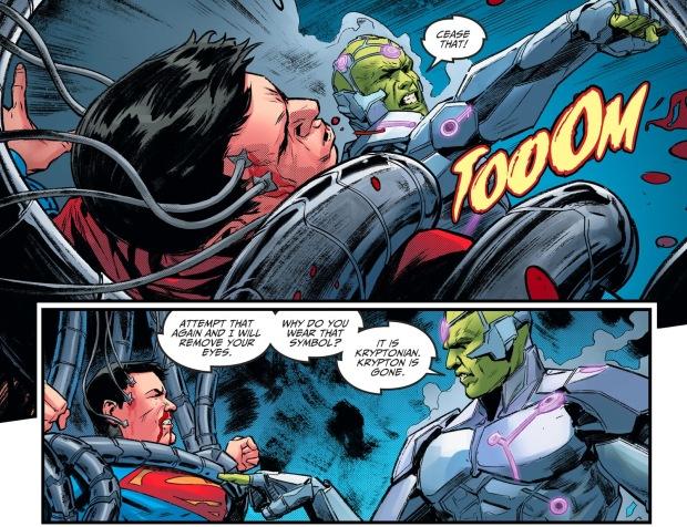 Brainiac Tortures Superboy (Injustice II)
