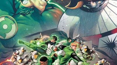 Darkstars VS The Green Lantern Corps