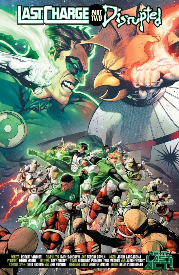 Darkstars VS The Green Lantern Corps