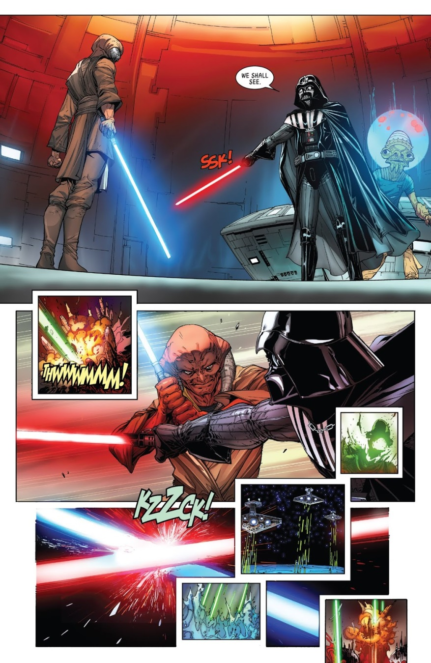 Darth Vader VS Ferren Barr