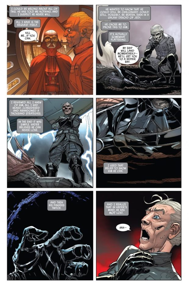 Darth Vader VS Grand Moff Tarkin