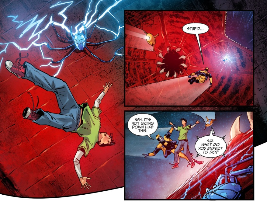 Death Of Booster Gold (Injustice II)