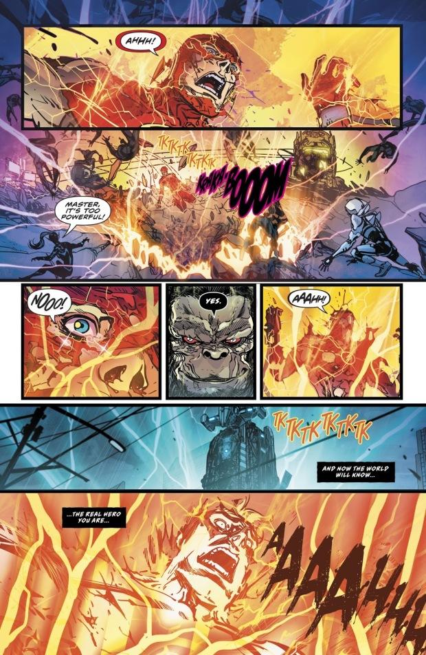 Gorilla Grodd Steals The Flash's Speed Force Connection (Rebirth)