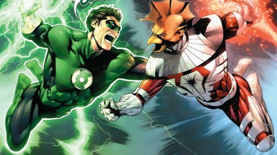Green Lantern Hal Jordan And Darkstar Tomar-Tu
