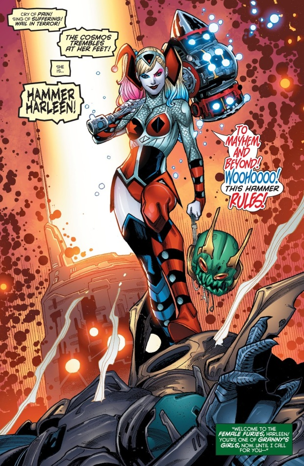 Harley Quinn Joins The Female Furies