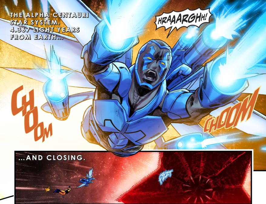 How A Blue Beetle Defeated Starro (Injustice II)