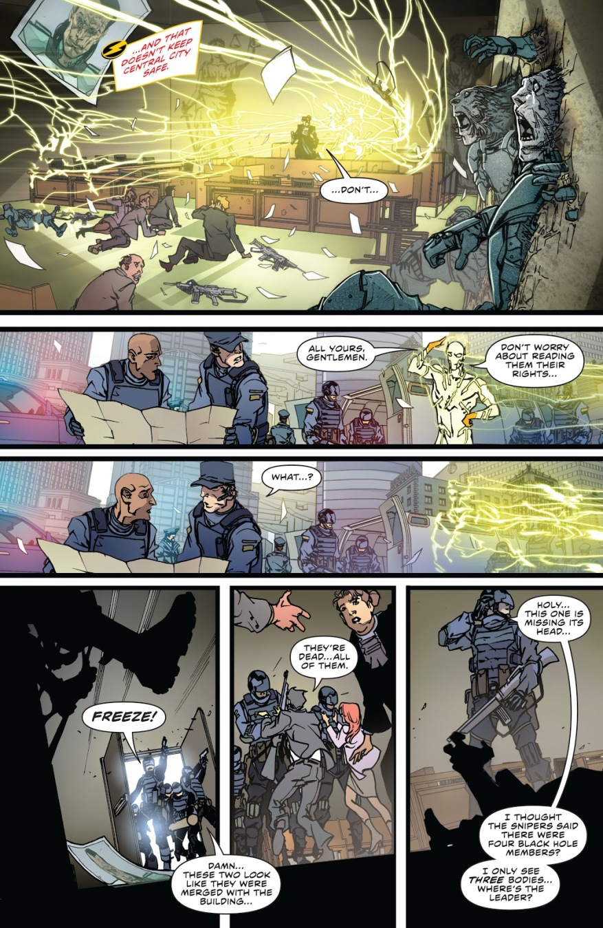 How Godspeed Deals With Hostage Takers