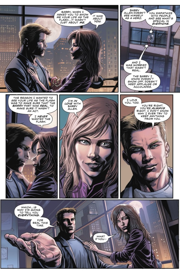 Iris West Loves Barry Allen (Rebirth)