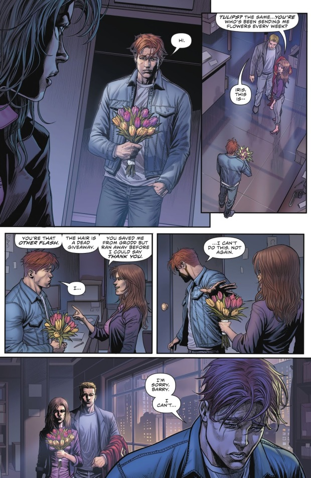 Iris West Remembers Wally West (Rebirth)