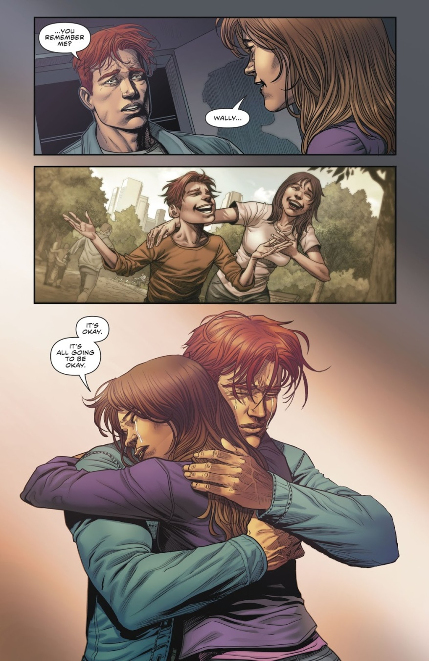 Iris West Remembers Wally West (Rebirth)