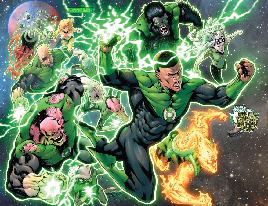 From – Hal Jordan And The Green Lantern Corps #49